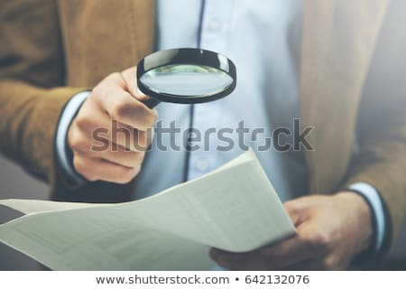 Professional Education - Magnifying Glass. Stock photo © tashatuvango