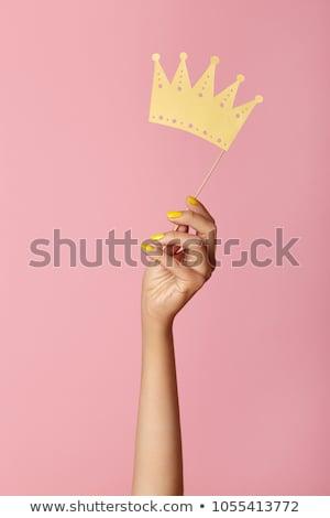 生活 女王 不怕 常設 準備 商業照片 © Fisher