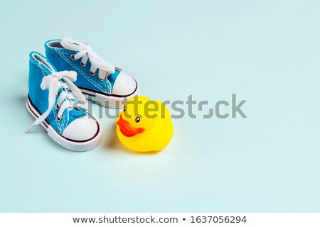 first pair of sneakers Stock photo © hayaship