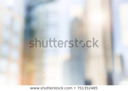 Güneş parlama pencere ofis binası bir iş Stok fotoğraf © pzaxe