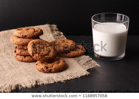 молоко пряничный здоровья кухне пить еды Сток-фото © yelenayemchuk