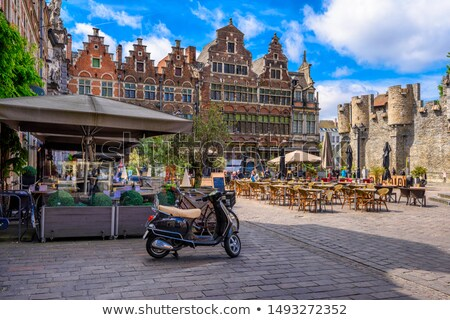 Ghent, Flanders, Belgium Stock photo © phbcz