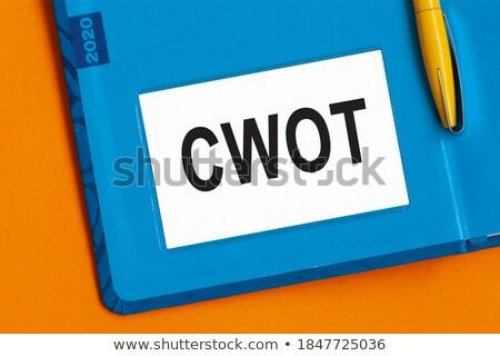 słowo · pióro · koncepcje · piśmie · list · odizolowany - zdjęcia stock © blotty
