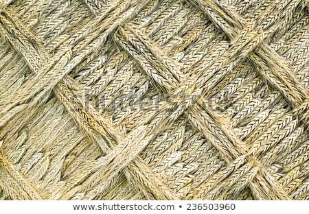 A golden wead weave art Stock photo © carenas1