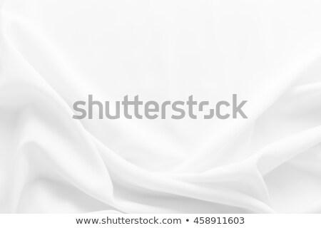белый шелковые текстильной текстуры ткань Сток-фото © ozaiachin
