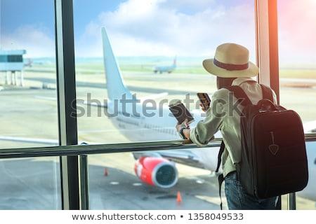 Airport Transit Stock photo © szefei
