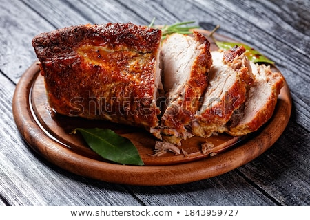 baked meat Stock photo © tycoon