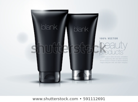 Black tube mock up Stock photo © pakete