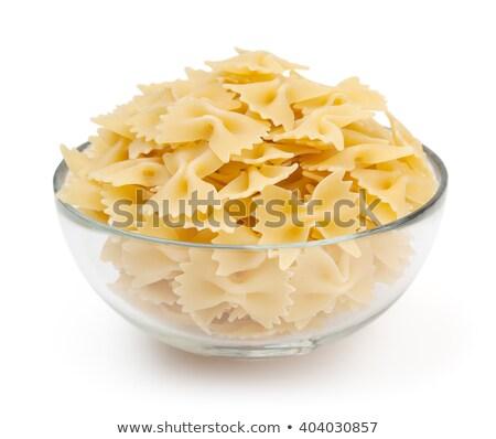 Bowl of bowtie pasta Stock photo © Digifoodstock