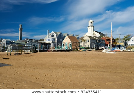 Cape Cod Provincetown Pilgrim tower Massachusetts Stock photo © lunamarina
