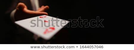 goochelaar · zwart · pak · lege · top · hoed - stockfoto © deandrobot