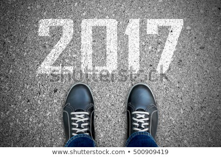 Going Ahead to Year 2017 Stock photo © ivelin