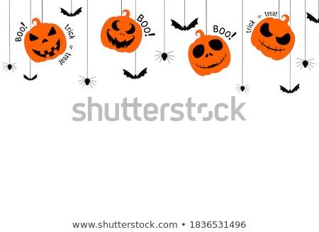 ruim · fantasma · morte · halloween · lua · fundo - foto stock © punsayaporn