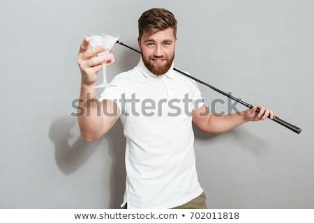 jovem · masculino · jogador · de · golfe · branco · homem - foto stock © nickp37