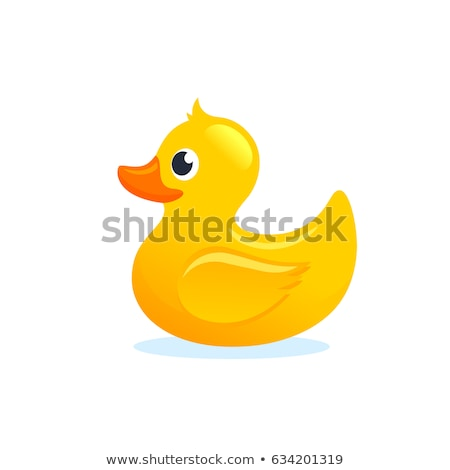 A cute yellow rubber duck Stock photo © bluering