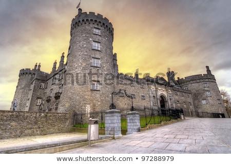 kilkenny castle gardens county kilkenny ireland stock photo © phbcz