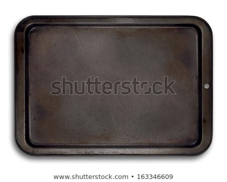 utilizado · metal · hoja · industrial · negro - foto stock © digifoodstock