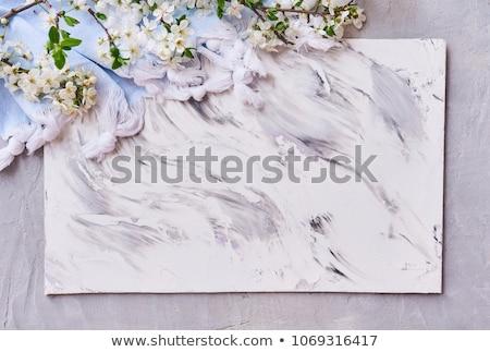 abstrato · vermelho · mármore · futurista · tecido · seda - foto stock © molaruso