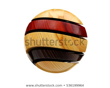 multicolored decorative balls abstract illustration on whitre background stock photo © tussik