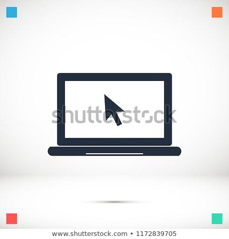 negocios · oficina · cuadrados · icono · diseno · papel - foto stock © robuart