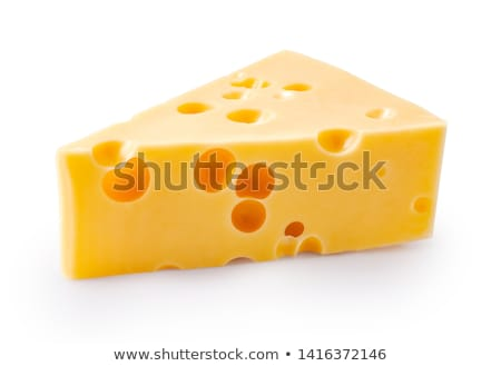 piece of emmental cheese Stock photo © Digifoodstock