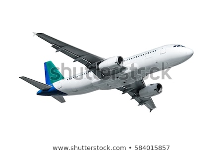 plane on white background Stock photo © ssuaphoto