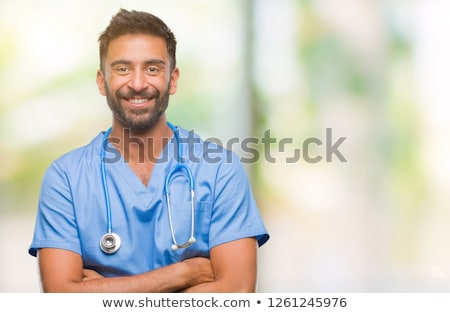 a portrait of a male surgeon stock photo © is2