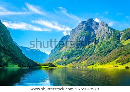 Völgy víz természet tájkép Európa panoráma Stock fotó © compuinfoto