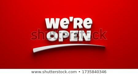 We are Hiring Service Designer. 3D. Stock photo © tashatuvango