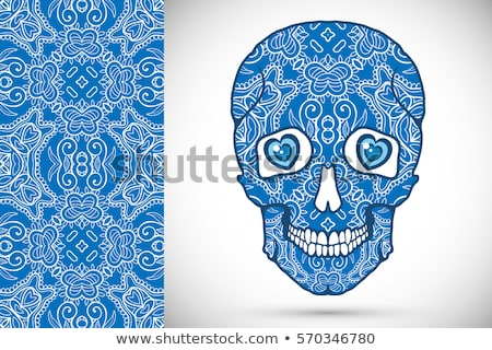 Mexican zentangle Day of Dead Dia de Muertos Stock photo © orensila
