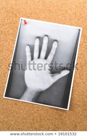 Mão boletim conselho alma espiritual comunicação Foto stock © devon