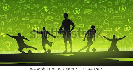 futball · verseny · liga · játék · szórólap · terv - stock fotó © sarts