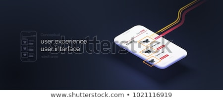 E Commerce Brochure Design Stock photo © Anna_leni
