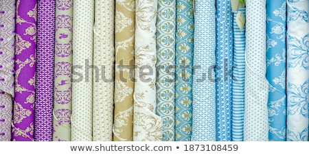 Background template with different color curtains Stock photo © colematt