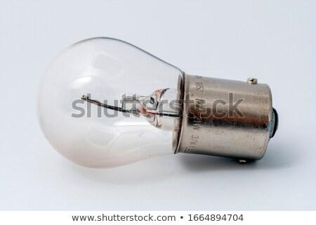 Koplamp hoofd- licht witte auto Stockfoto © ruslanshramko