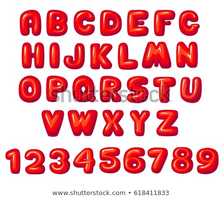 math · vermenigvuldiging · drie · cijfer · nummers · illustratie - stockfoto © colematt
