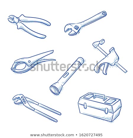 Hands Wire Craft Illustration Stock photo © lenm