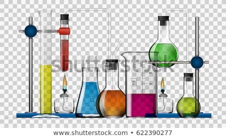 set of lab tools stock photo © colematt
