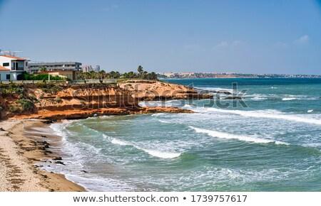 pilar de la horadada sandy beach spain stock photo © amok