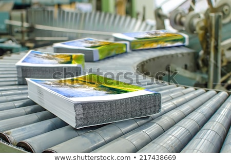 Stack of printed materials Stock photo © boggy