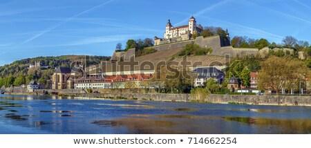 старый город замок холме панорамный мнение регион Сток-фото © xbrchx