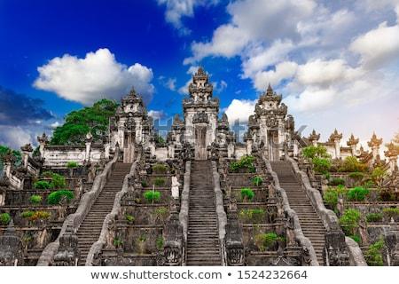 три каменные красивой храма лет пейзаж Сток-фото © galitskaya