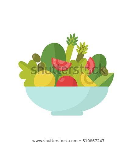 Cuisson légumes saladier chou laisse verre Photo stock © robuart