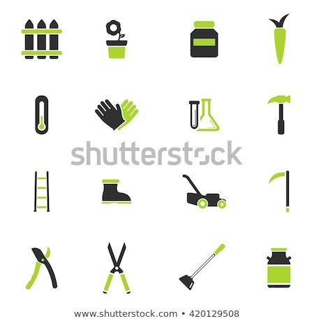 Jardim ferramentas simplesmente ícones símbolo os ícones do web Foto stock © ayaxmr