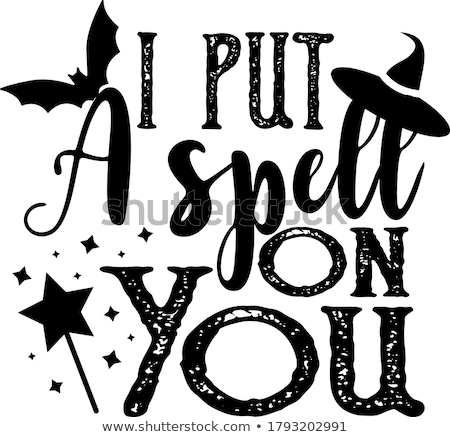 I put a spell on you Stock photo © Zsuskaa