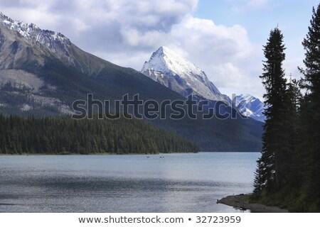 Late summer on a Lake near Jasper Stock photo © photoblueice