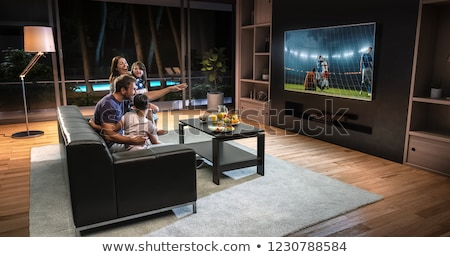 Watching TV Stock photo © jamdesign
