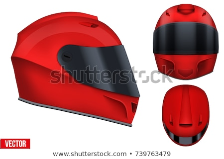 Rally racing helmet Stock photo © tomistajduhar