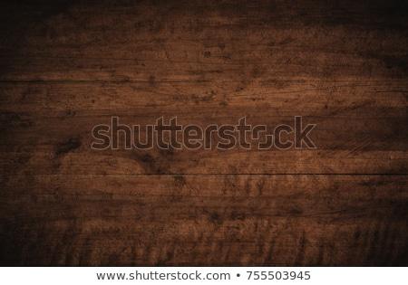Oude gebarsten grunge bruin muur retro Stockfoto © pzaxe