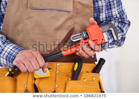 трубы · ключа · мужчины · инструментом - Сток-фото © photography33